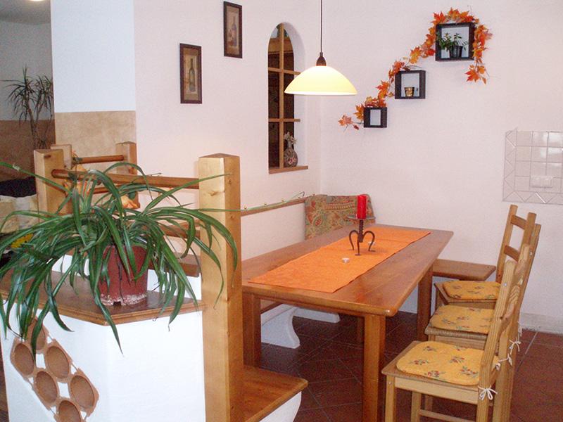 Sitzgarnitur Küche | Apparthaus Christl Seer Christine Grossarltal